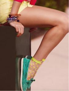 calzedonia calze collant collezione nuova estate primavera 2013 leggings calzini corti ballerine mocassini