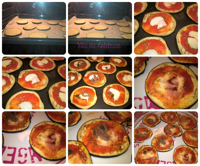 Collage pizzette